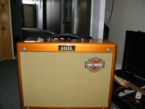 2015 Bruno/Harley Davidson Harley davidson amp and guitar set