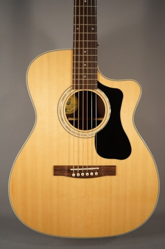 2015 Guild Guitars NEW! Guild 130RCE NAT Acoustic Guitar With Case