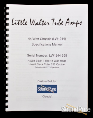 Little Walter Tube Amps LW1244