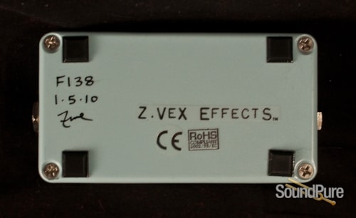 ZVex Effects Pedals Ooh Wah II