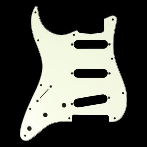 Fender® '62 Stratocaster® Pickguard Left Handed Mint Green