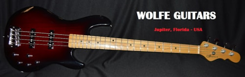 2015 G&L USA MJ-4