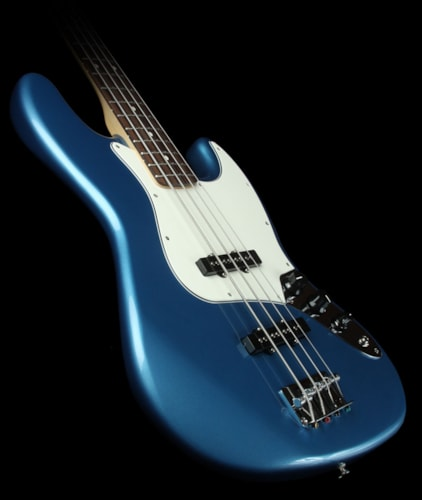 Fender® Used Fender® Standard Jazz Bass® Electric Bass Guitar Lake Placid Blue