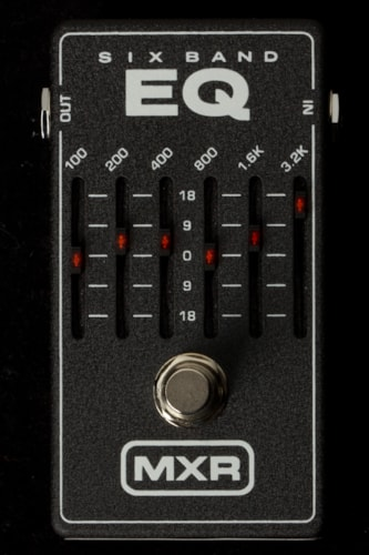2015 MXR M109 MXR SIX BAND EQUALIZER