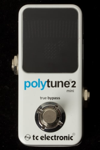 2015 TC Electronic Polytune Mini 2 Tuner