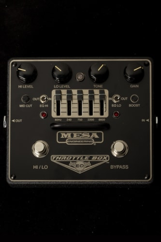 2015 Mesa Boogie Throttle Box EQ