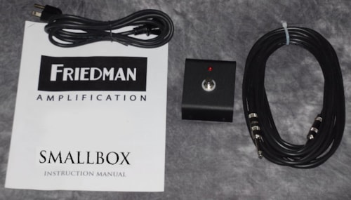 2015 Friedman SmallBox 50 watt amplifier