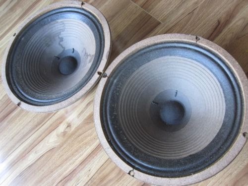 "1972 VINTAGE CELESTION G12H30 75HZ T1534 12"" GUITAR SPEAKERS BASS CONES"