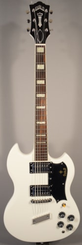 2015 Guild Guitars NEW! Guild S-100 Polara White Electric Guitar With Case.