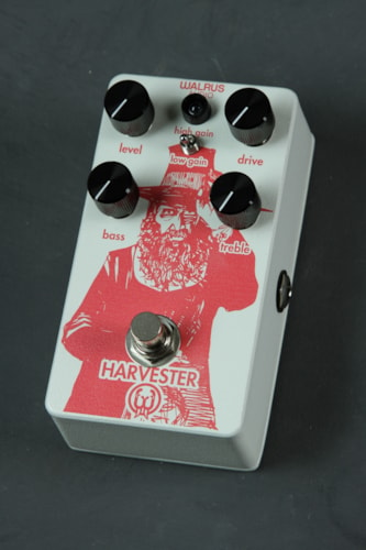 Walrus Audio Harvester - Ghost White with Salmon