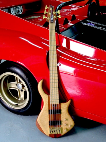 1998 Warrior Signature 5 String Bass