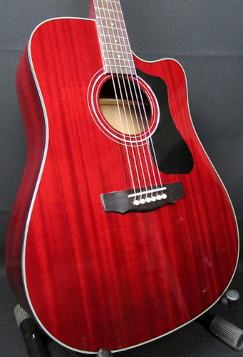 2015 Guild® D-125CE All solid mahogany acoustic electric