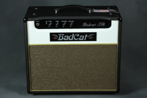 Bad Cat Bad Cat Bobcat 5 - 1x12/Black Ostich White Front
