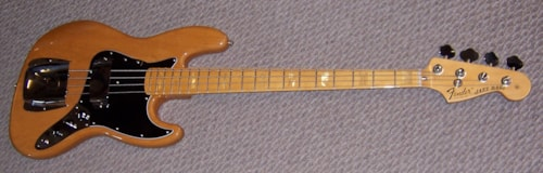 2013 Fender® Reissue Jazz Bass®   1975 Special Run