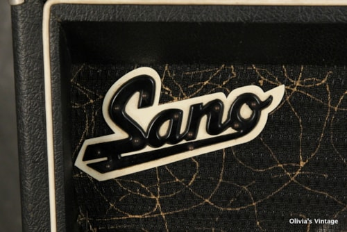1967 Sano Supersonic Tube Amplifier 1x12 + 2X8 speakers Amp