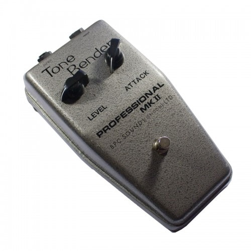 British Pedal Company Professional MKII Tone Bender OC81D JIMMY PAGE