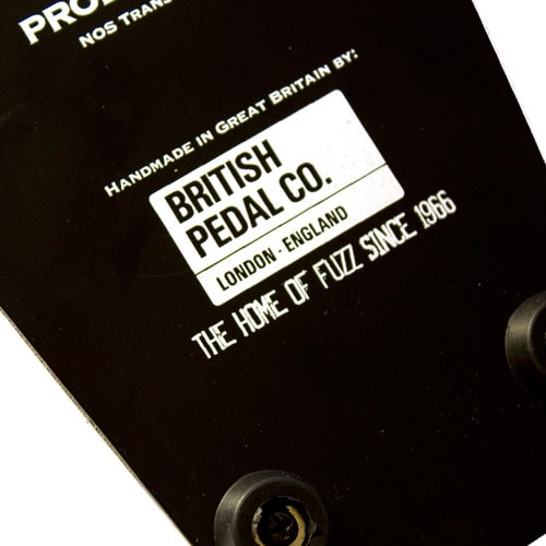 British Pedal Company Professional MKII Tone Bender OC75