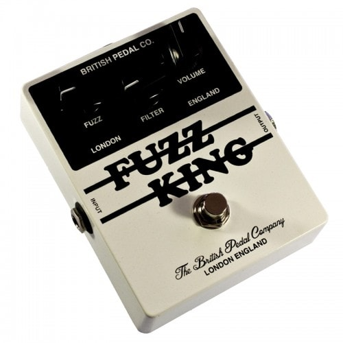 British Pedal Company Players Series Fuzz King