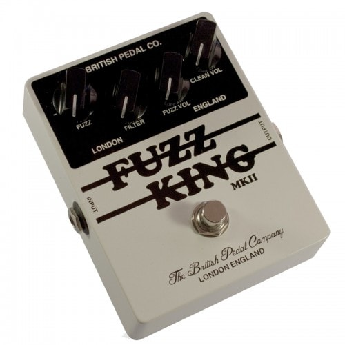 British Pedal Company Players Series Fuzz King MKII