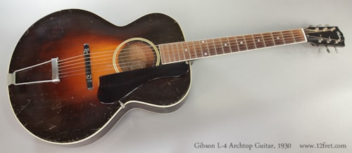 1930 Gibson L-4