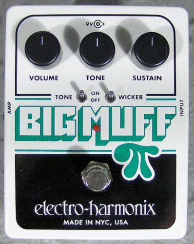 2015 Electro-Harmonix Big Muff with Tone Wicker