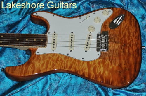 2013 Fender Select Stratocaster Exotic Maple Quilt