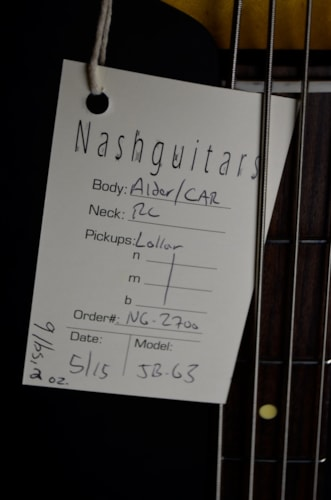 2015 Nash Guitars JB-63