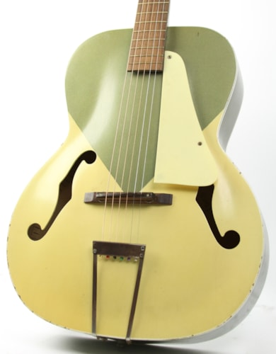 1958 Silvertone Colorama Green / White > Guitars Archtop Electric ...