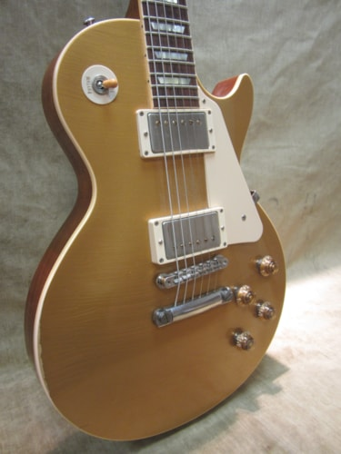 2012 Gibson Jim Marshall 50th Anniversary Tom Murphy Aged 57 Gold Top