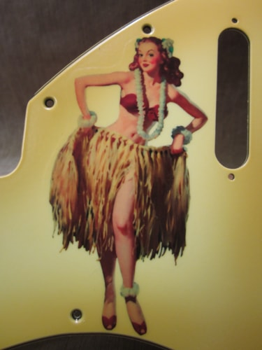"""2015 Fender® Custom Shop """"Girly Guard"""" Stratocaster® 50's Pin Up Relic® aged"""