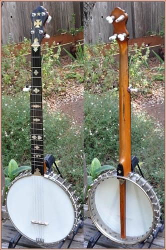 ~1905 Lyon and Healy 5 string banjo