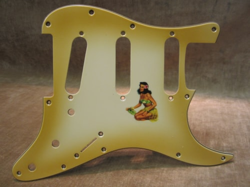"2015 Fender® Custom Shop ""Girly Guard"" Stratocaster® 50's Pin Up Relic® aged"