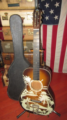~1939 Supertone Winner Parlor Guitar