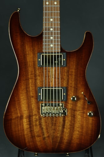 Tom Anderson Short Hollow Drop Top - Koa - Tobacco Shaded Edge