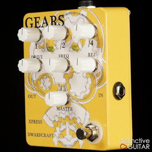 Dwarfcraft Gears Overdrive & Octave Pedal