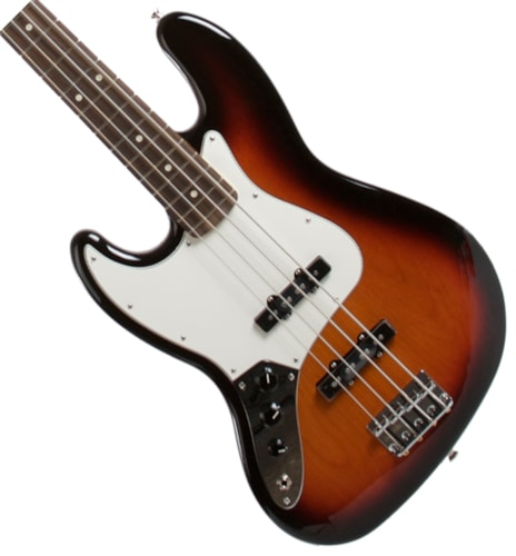 2015 Fender® Standard Jazz Bass® Lefty