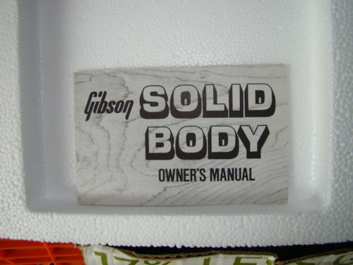 1980 Gibson Solid Body Owners Manual