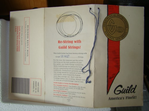 1968 Guild Guitar Warranty