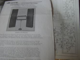 Ampeg PA Owners Manual & Schematic