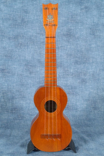 1920 NO NAME HAWAIIAN SOPRANO UKULELE