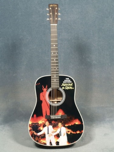 2016 Martin D-28 LOUVIN BROTHERS LIMITED EDITION GUITAR & CASE