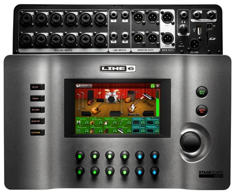 2016 LINE 6 STAGESOURCE SMART MIXING SYSTEM