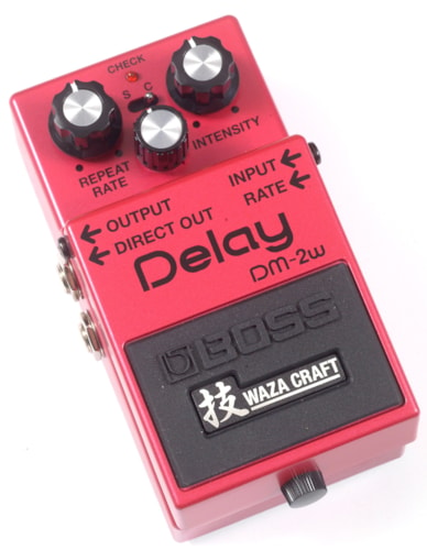 2017 BOSS DM-2W DELAY WAZA CRAFT SPECIAL EDITION PEDAL