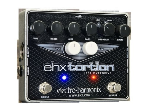 2016 ELECTRO HARMONIX EHX TORTION JFET OVERDRIVE PEDAL