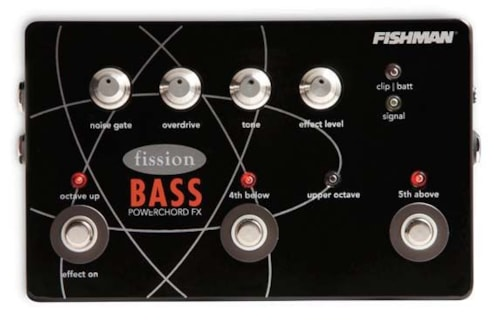 2017 Fishman FISSION BASS POWERCHORD FX PEDAL