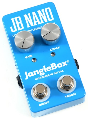 2017 JANGLEBOX JB NANO COMPRESSOR AND TREBLE BOOSTER PEDAL