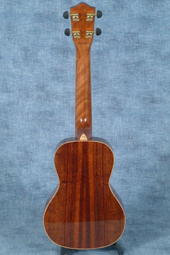 2016 LANIKAI NKTU-C HAWAIIAN KOA CONCERT UKULELE WITH THE TUNAUKE SYSTEM