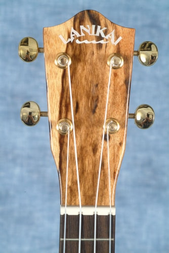 2017 LANIKAI SMTU-C SOLID HAWAIIAN MANGO CONCERT UKULELE WITH THE TUNAUKE SYSTEM