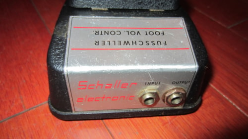 ~1973 Schaller Fuchswaller Foot Volume Control for Moog