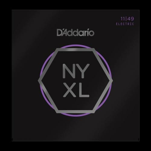 D'Addario NYXL Medium 11-49 Nickel Wound Electric Guitar Strings